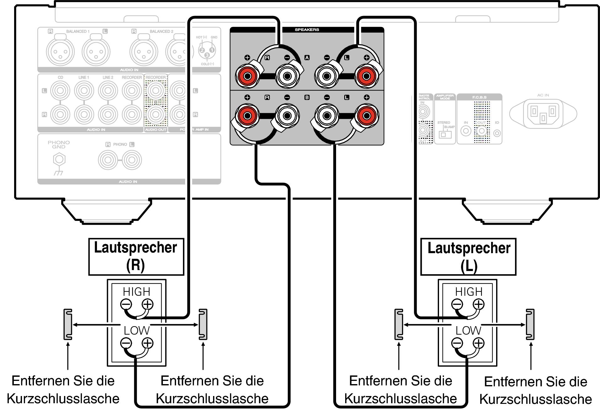 Charmant Bi Lautsprecher Diagramm Fotos - Der Schaltplan - greigo.com