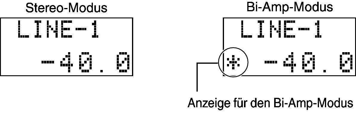 Vollständiger Stereo-Doppelverstärker-Anschluss (Bi-Amp) PM-10