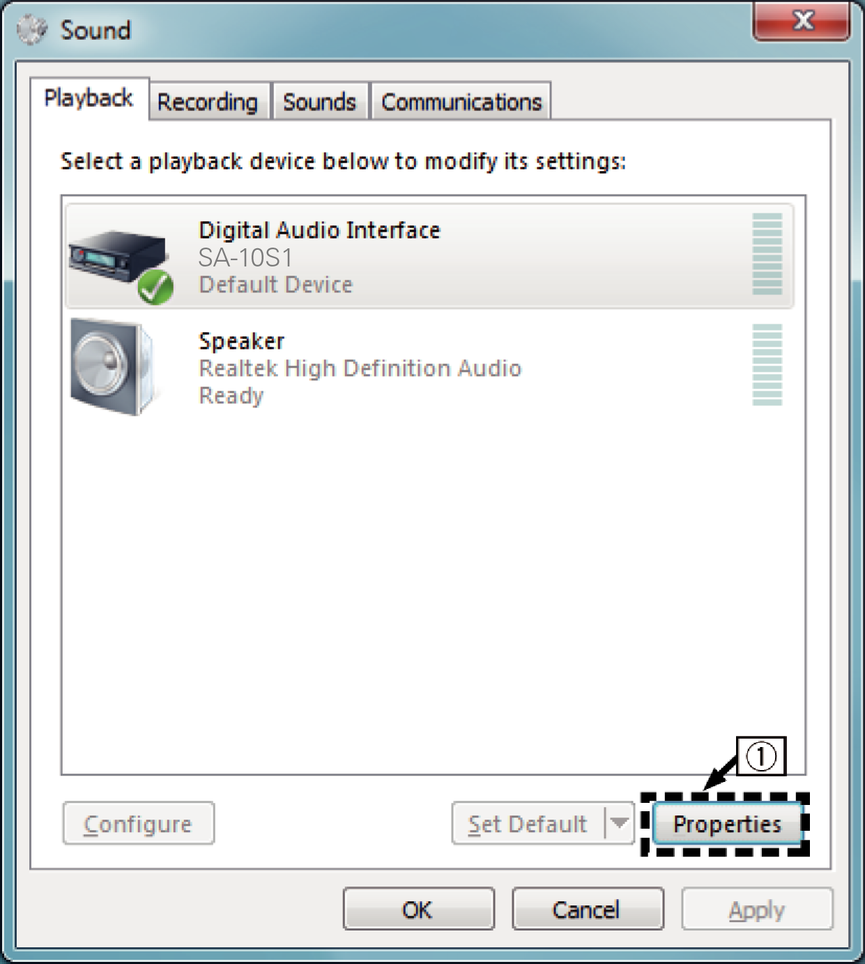 Connecting and playing back from a computer (USB-DAC) SA-10