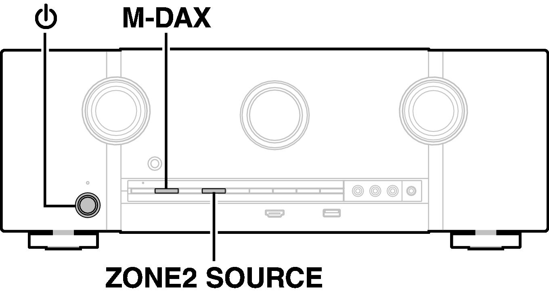 Resetting factory settings SR5010